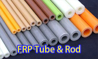 FRP rod and tube